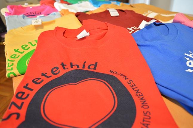 Szeretethíd pólók